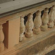 Renovace historického zábradlí
