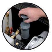 EcoBlaster - integrované ruční čerpadlo