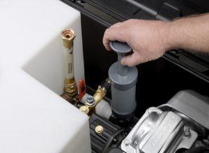 EcoBlaster - detail ruční pumpy