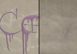 Vlhčené ubrousky Graffiti SafeWipes v akci - před a po čištění tagů