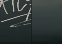 Vlhčené ubrousky Graffiti SafeWipes v akci - před a po vyčištění tagů