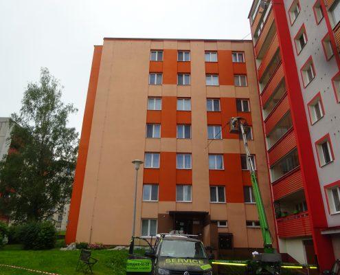 Obnovení vzhledu fasády