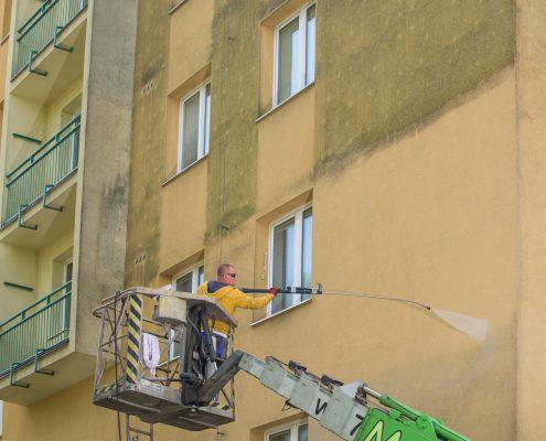 Očista fasády