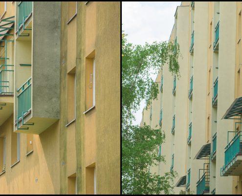Renovace fasády bytového domu