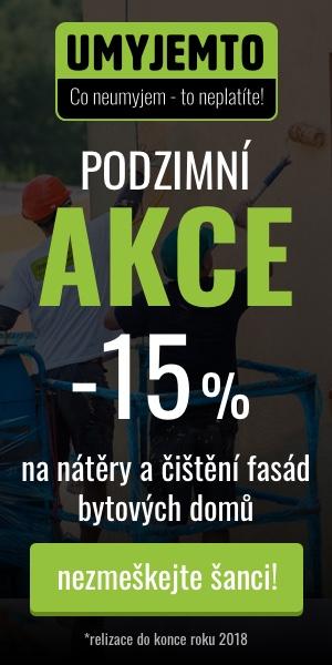 Podzimní akce Umyjemto.cz