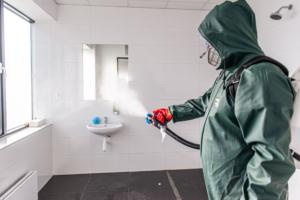 Dezinfekce koupelny