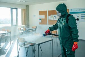 Dezinfekce školní budovy