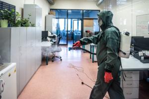 Dezinfekce kanceláře