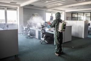 Dezinfekce kanceláře open office
